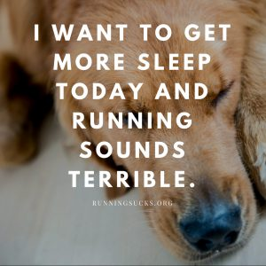 does running make you sleep better?